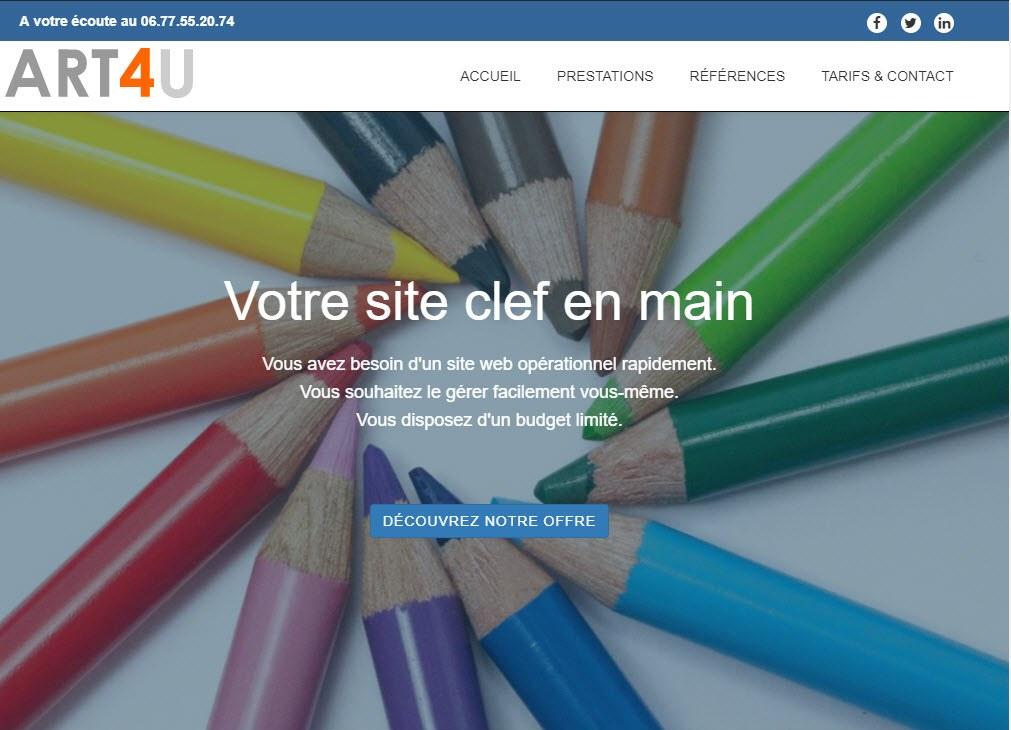 art4u-pro | votre site web clé en main